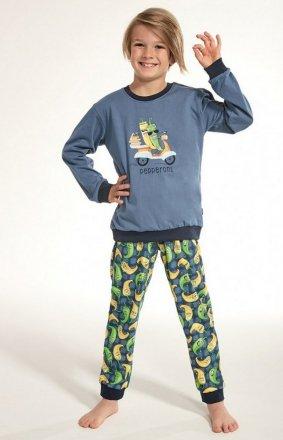 Cornette Kids Boy 593/91 Pepperoni dł/r 86-128 piżama chłopięca