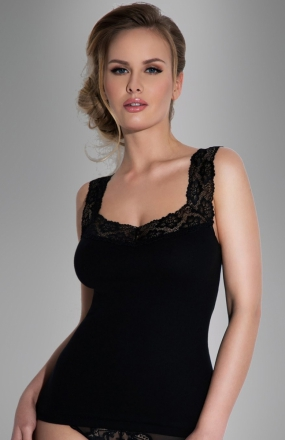 Eldar Arietta MAXI koszulka czarna