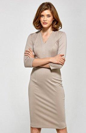 Colett CS17 sukienka beżowa