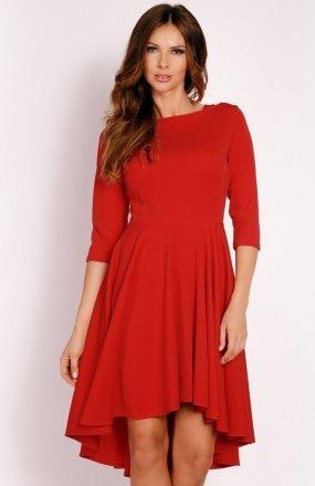 LOU LOU L004 sukienka czerwona