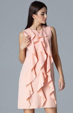 Figl M622 sukienka różowa