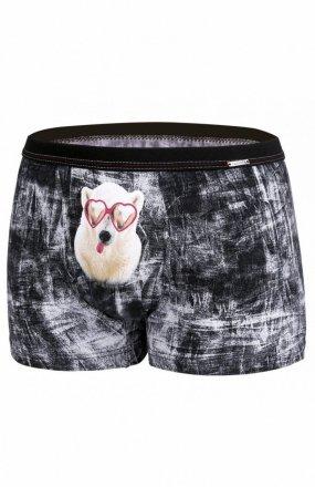 Cornette 010/63 Glasses Walentynkowe bokserki