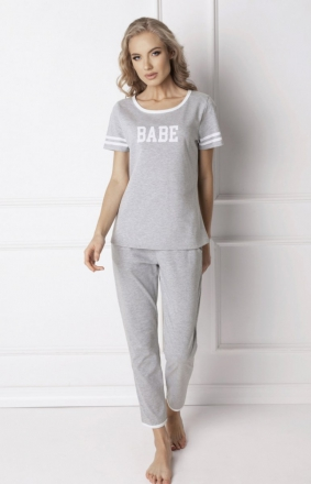 Aruelle Babe Long Grey Piżama