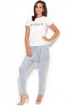 Katrus K193 spodnie szary