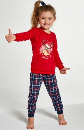 Cornette Kids Girl 594/130 Reindeer piżama