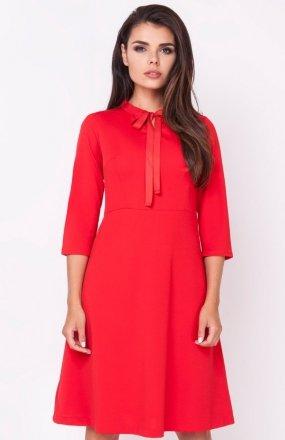 Nommo NA224 sukienka czerwona