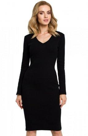 Moe M393 sukienka czarna