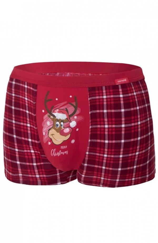 Cornette 007/58 Reindeer Merry Christmas bokserki