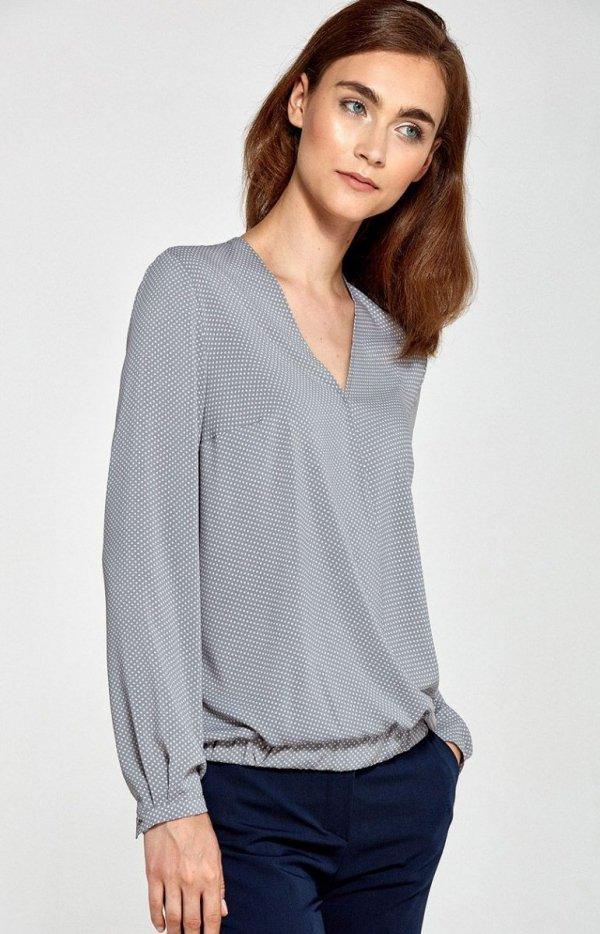 Nife B83 bluzka szara
