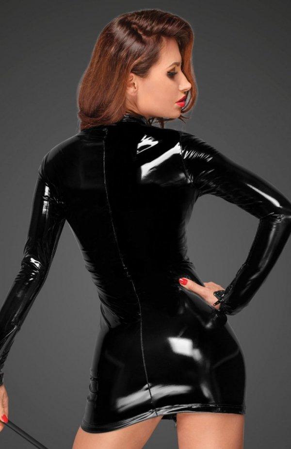Noir F187 sukienka dopasowana tył