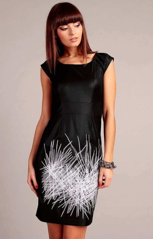 Vera Fashion Denise sukienka czarna
