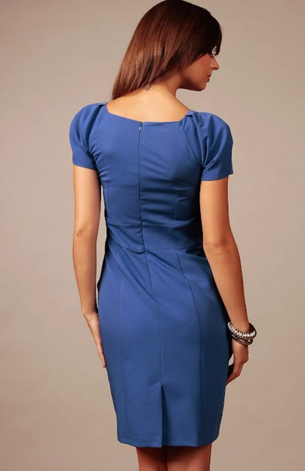 Vera Fashion Michelle sukienka chabrowa