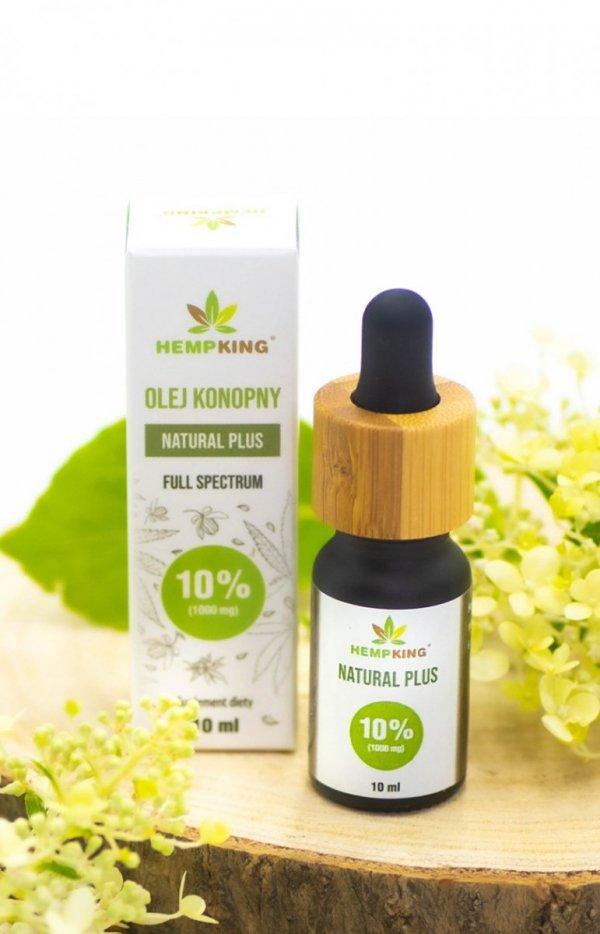 HempKing Olej konopny CBD Natural 10%