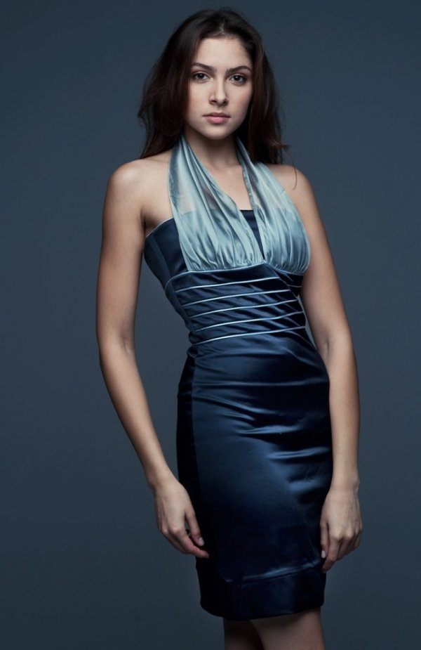 Vera Fashion Bella sukienka granatowa