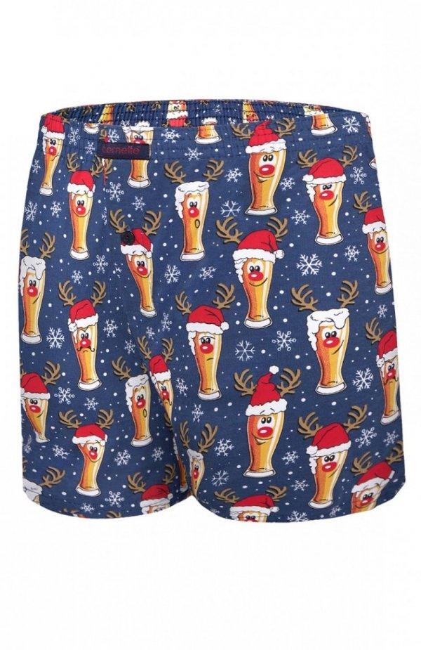Cornette 016/12 Beer Merry Christmas bokserki