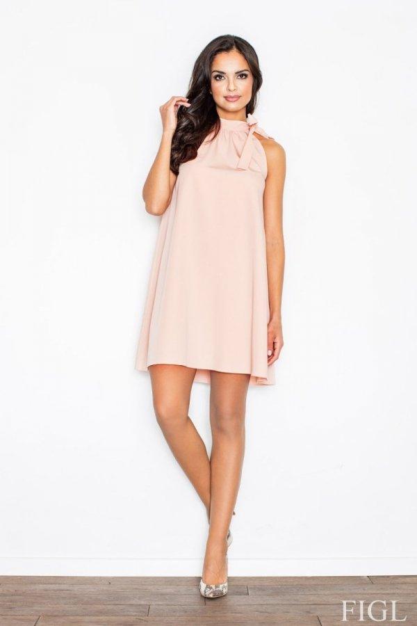 Figl M277 sukienka różowa