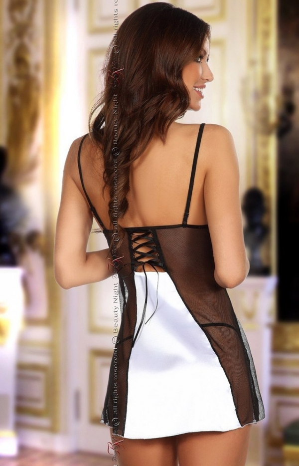 Beauty Night Michele chemise white komplet