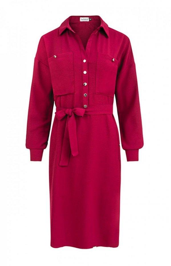 Koszulowa sukienka Numoco 258-1 Brooke-1