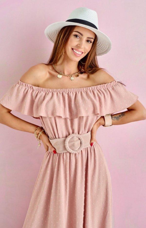 Asymetryczna sukienka hiszpanka 0334-1