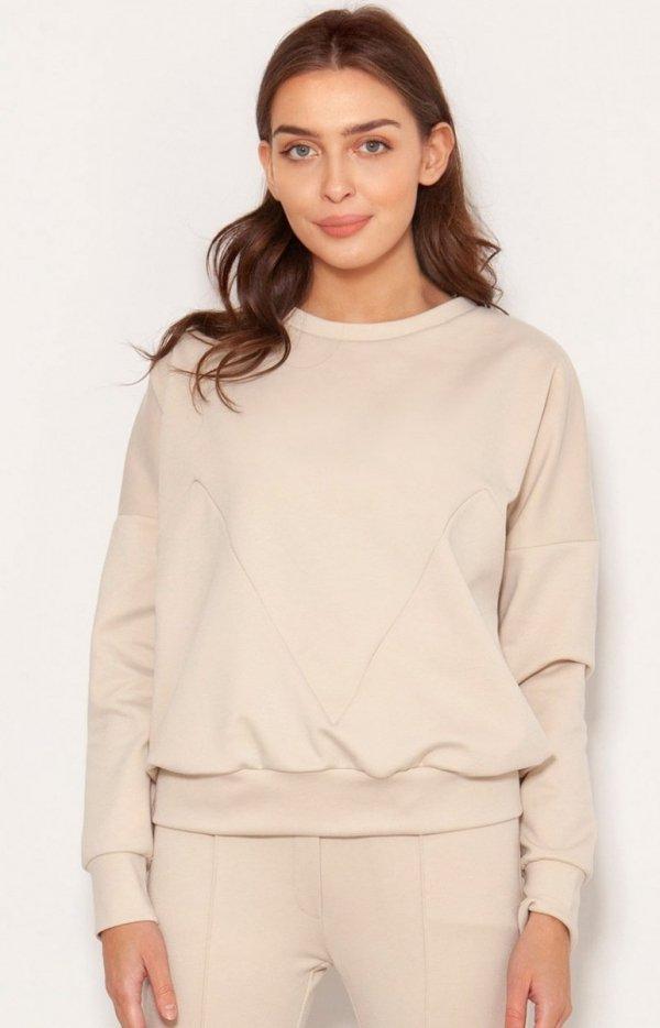 Luźna bluza damska BLU148