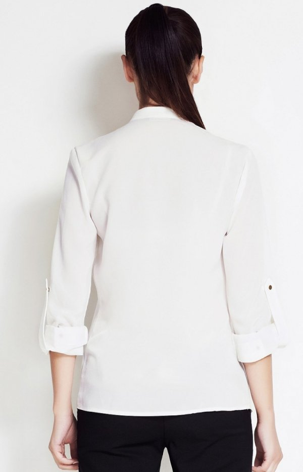 Awama A51 koszula ecru