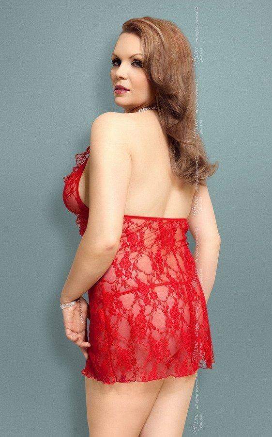Softline Carmen MAXI komplet czerwony