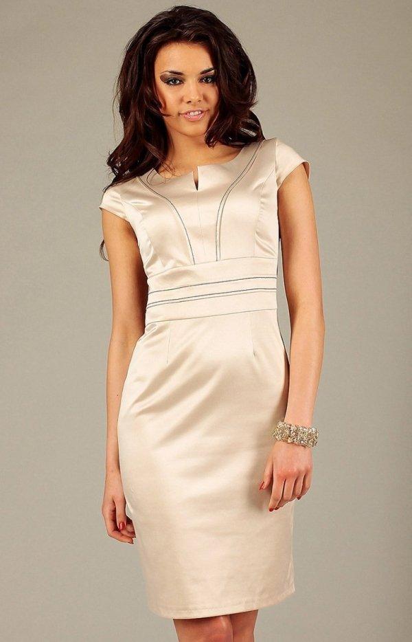 Vera Fashion Tamara sukienka beżowa