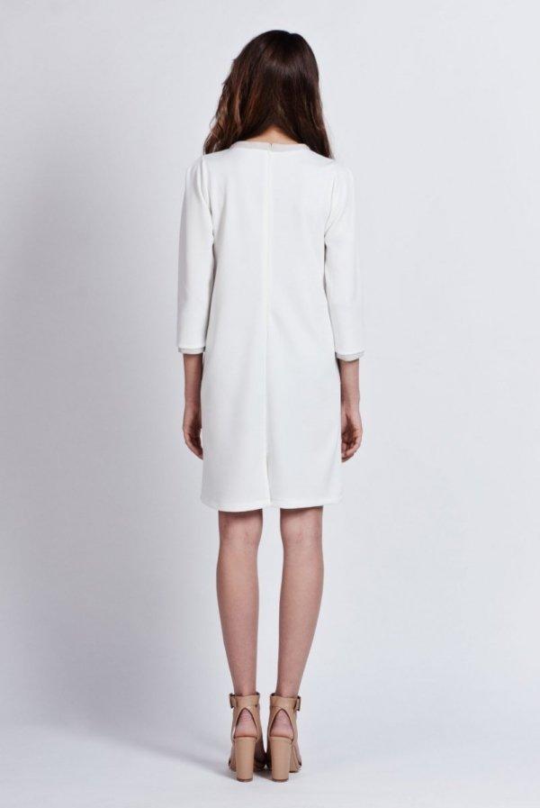 Lanti SUK103 sukienka ecru