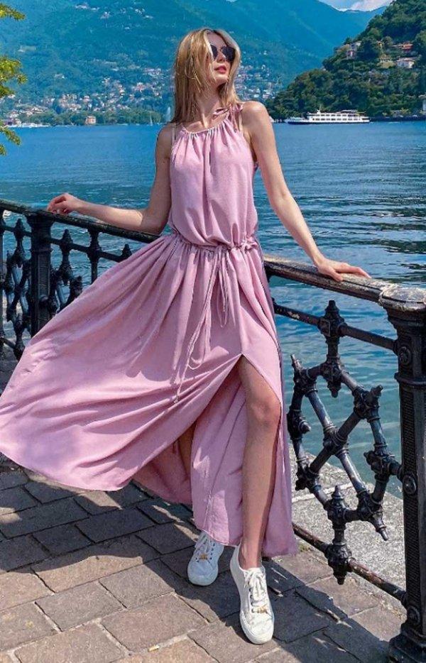 Letnia sukienka maxi Rodos-1