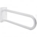 Poręcz stała łukowa dla niepełnosprawnych Faneco S32UUS6 SW B 60 cm stal węglowa emaliowana