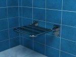 Krzesełko prysznicowe uchylne bez podpór Makoinstal PSP 501A