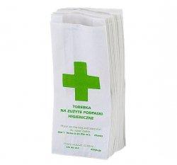 Torebki sanitarne Linea Trade papierowe 100 sztuk
