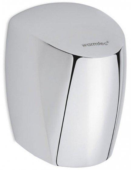 Suszarka do rąk Warmtec InnoFlow 550-1250W, automatyczna, polerowane aluminium