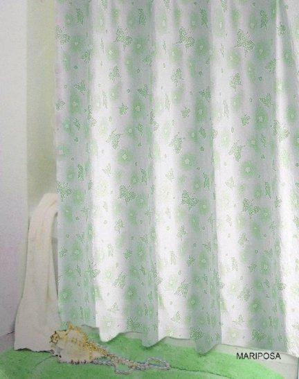 Zasłona prysznicowa Bisk PEVA MARIPOSA 71978 180x200 cm
