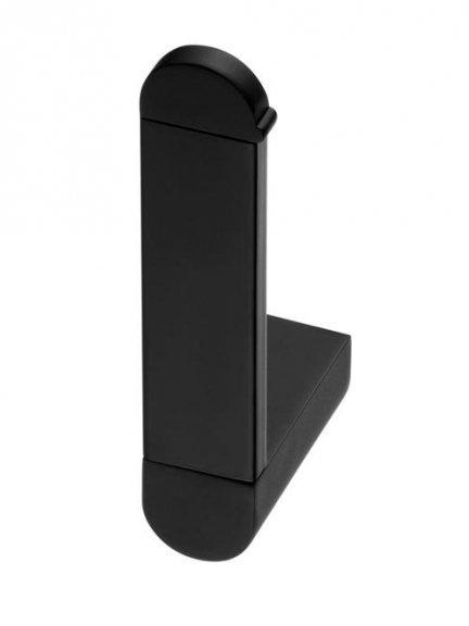 Uchwyt WC Bisk Futura Black 02962 zapasowy na papier toaletowy w rolce