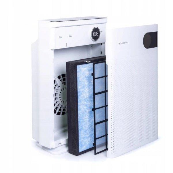 oczyszczacz powietrza do 100m2 z jonizatorem Krupa Design KDAP03 filtry