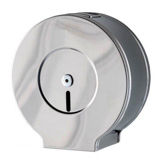 Pojemnik (podajnik) Faneco Alt (LCO0202F) na papier toaletowy w rolkach, ścienny, ze stali nierdzewnej