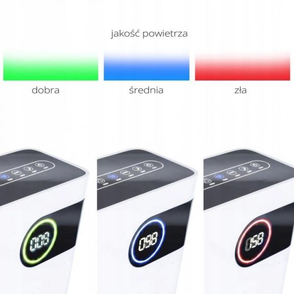 oczyszczacz powietrza do 100m2 z jonizatorem Krupa Design KDAP03 kolory
