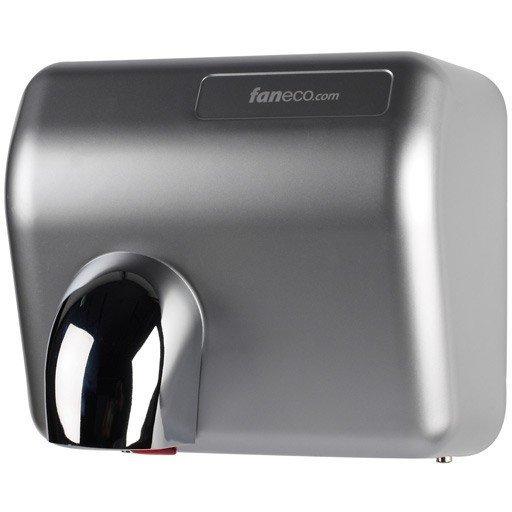 Suszarka do rąk Faneco Ponente 2300W (D2300PFG), automatyczna, srebrna ABS