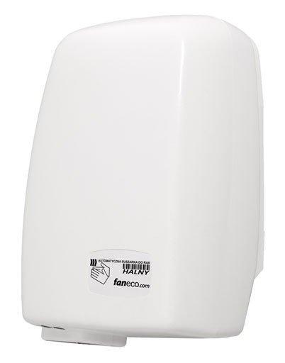 Suszarka do rąk Faneco Halny 1200W (D1200PC-W), automatyczna, biała, ABS