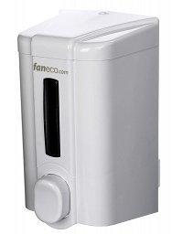 Dozownik (dystrybutor) mydła w płynie Faneco Eco (S1000PE-W) 1 litr z tworzywa ABS