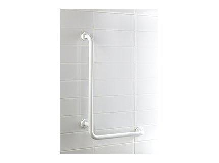Kątowy uchwyt łazienkowy L Bisk Masterline PRO 04784 550 x 550 mm - atestowana poręcz łazienkowa
