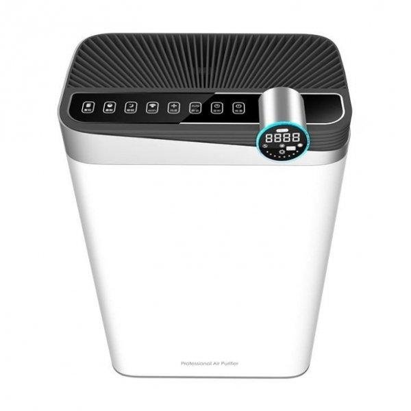 Sanjo oczyszczacz powietrza z nawilżaczem do 65m2 - lampa UV, funkcja jonizacji