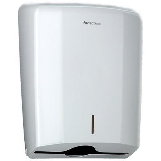 Pojemnik (podajnik) Faneco ZZ ZEN (LCP0106B) na ręczniki papierowe w listkach, ścienny, plastikowy ABS