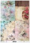 fondos de papel decoupage, fondos de escritorio, flores, pájaros*Decoupage Papier Hintergründe, Tapeten, Blumen, Vögel*декупаж фон, обои, цветы, птицы