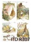 Wielkanoc, kurczaki, kurczaczki, kwiatki, wiosna, jajka, pisanki, R307