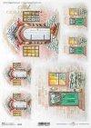 Puertas de madera con estilo, ventanas con decoraciones navideñas*stilvolle Holztüren, Fenster mit Weihnachtsschmuck*стильные деревянные двери, окна с праздничными украшениями