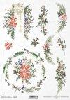 Navidad, composiciones florales navideñas*Weihnachten, Weihnachtsblumenkompositionen*Рождество, рождественские цветочные композиции,