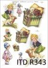 dzieci, zabawa, zabawy, zabawki, misie, lalki, R343