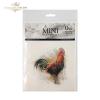 Zestaw papierów ryżowych ITD - RSM004 * kury, kurczaki, koguty